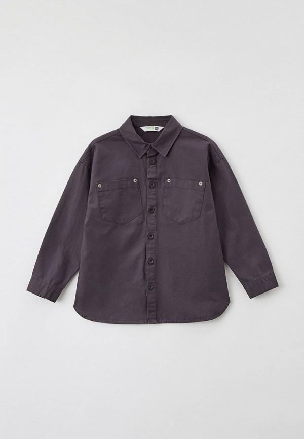 Рубашка Sela Sela  серый фото