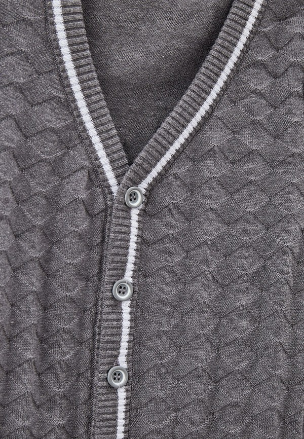 Кардиган для мальчика Stenser цвет серый  Фото 3
