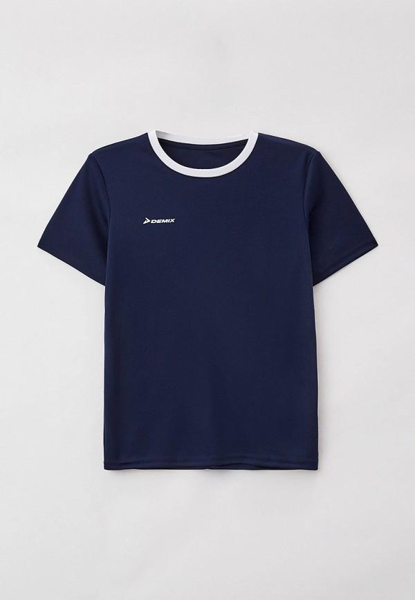 Футболка для мальчика спортивная Demix цвет синий