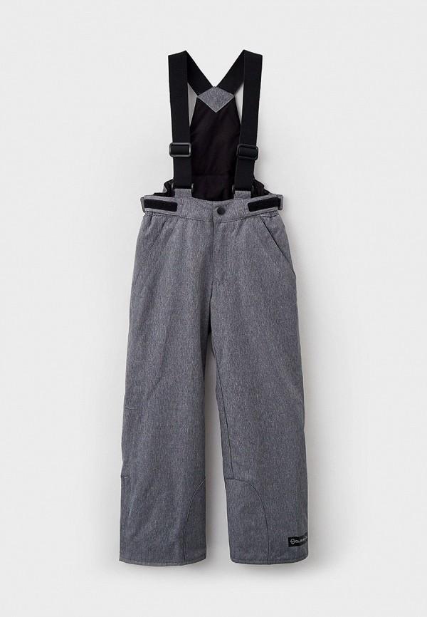 сноубордические брюки glissade для мальчика, серые