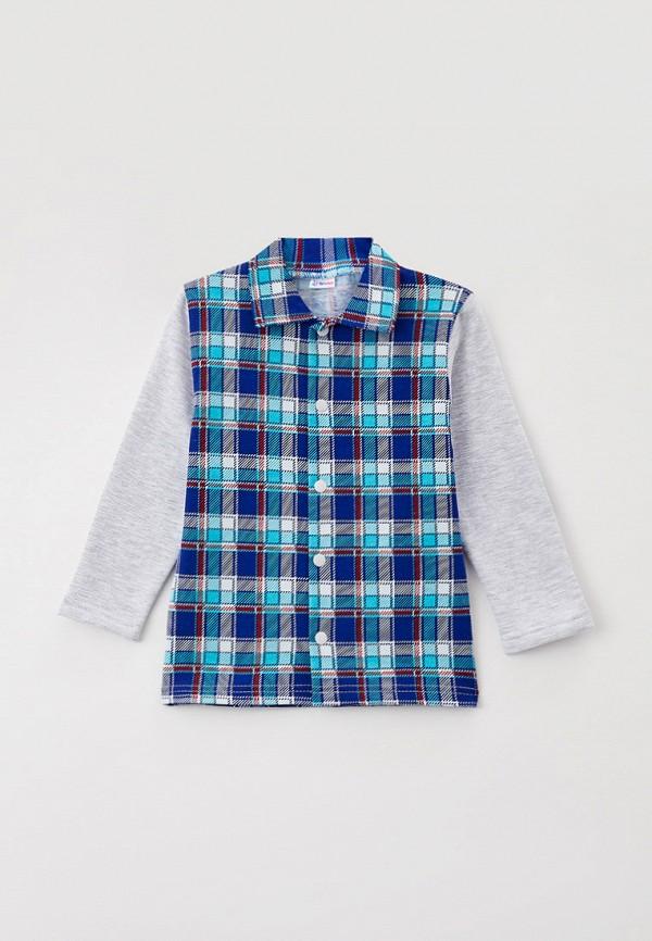Рубашка для мальчика Youlala цвет синий