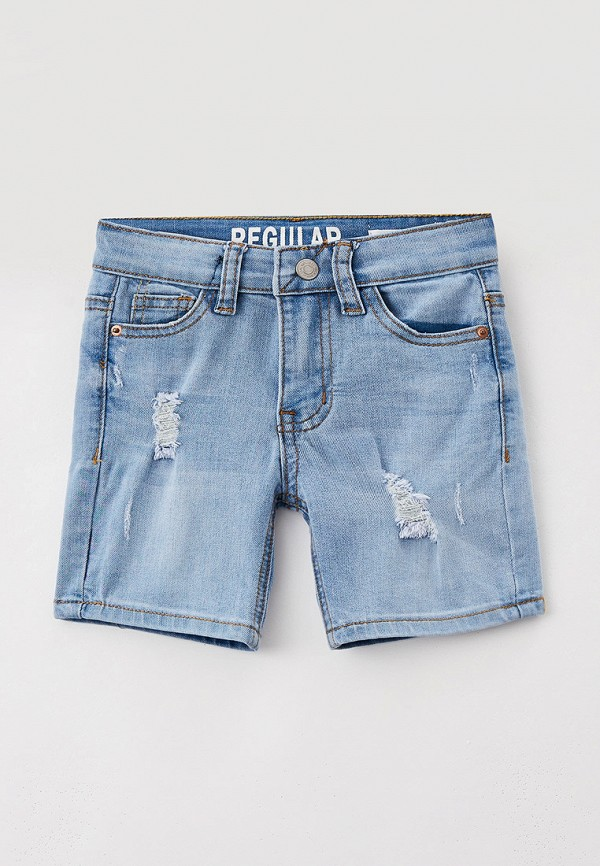 Шорты джинсовые Sela Sela  голубой фото