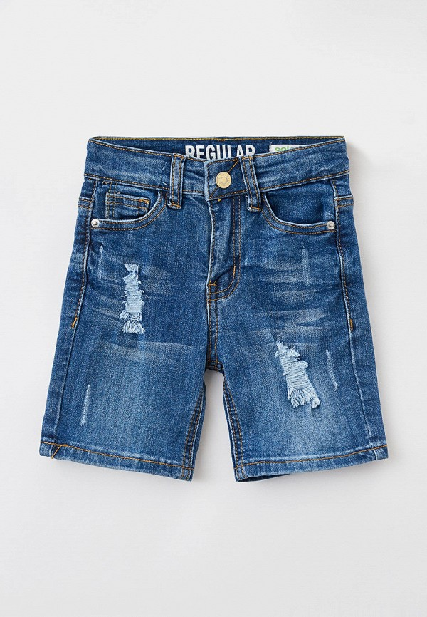 Шорты джинсовые Sela Sela  синий фото