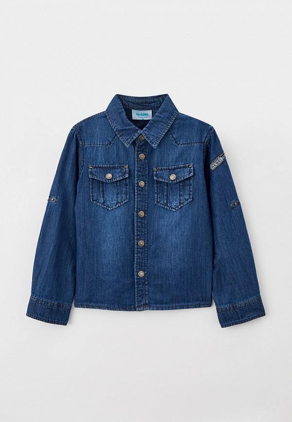 джинсовые рубашка acoola для мальчика, синяя
