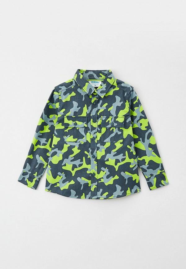 рубашка acoola для мальчика, серая