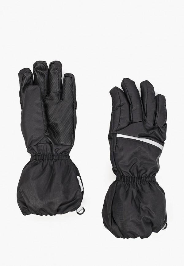 перчатки nikastyle для мальчика, черные