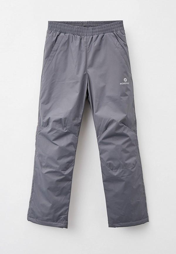 сноубордические брюки nordway для мальчика, серые