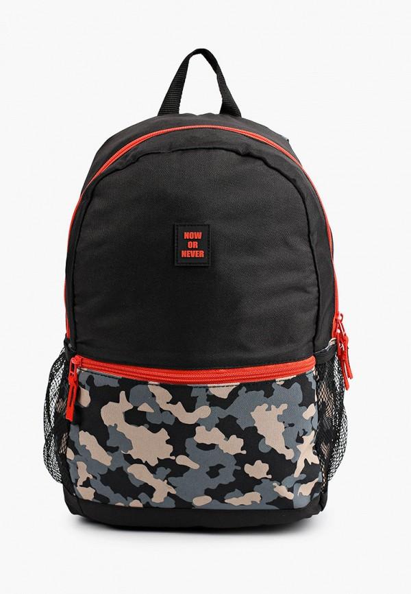 рюкзак demix для мальчика, черный