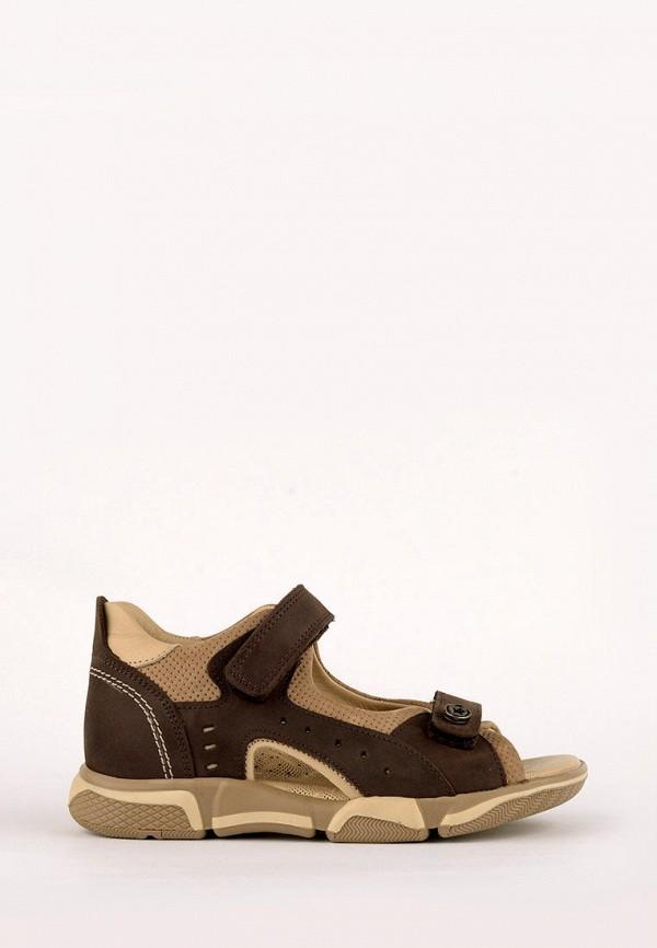 сандалии liya для мальчика, коричневые