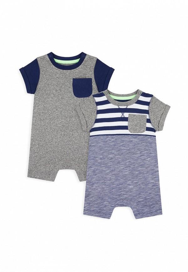 комбинезон с брюками mothercare для мальчика, разноцветный