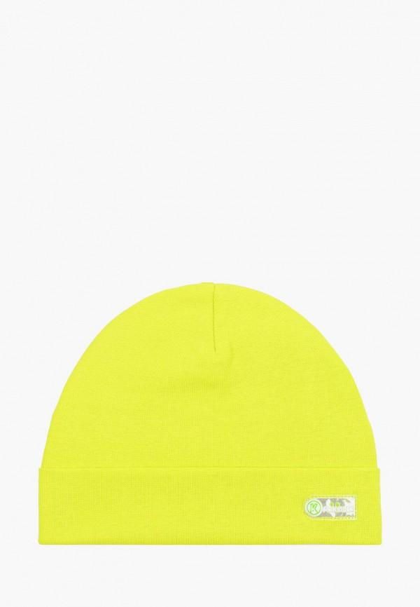 шапка prikinder для мальчика, зеленая