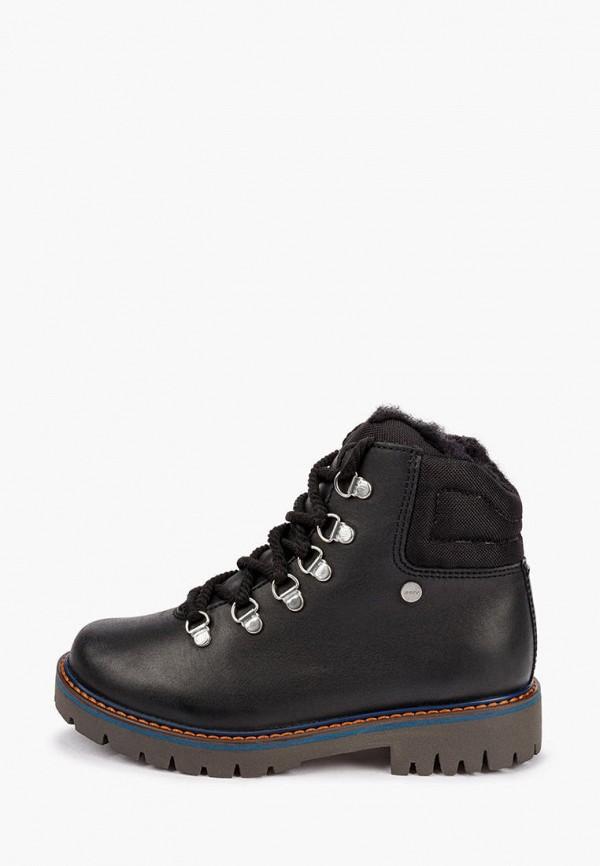 Ботинки Bartek черного цвета