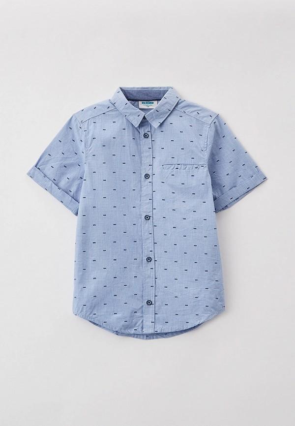 рубашка acoola для мальчика, голубая