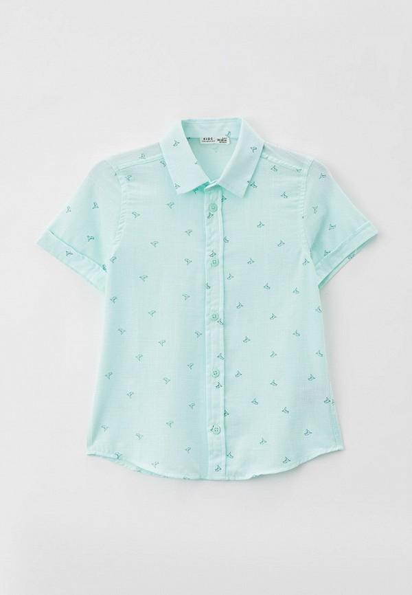 рубашка defacto для мальчика, бирюзовая
