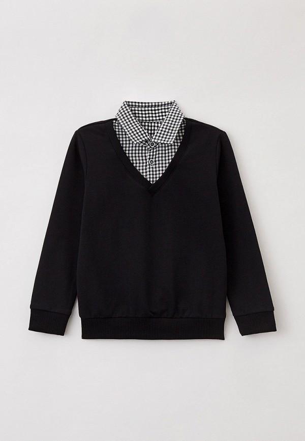 пуловер mark formelle для мальчика, черный