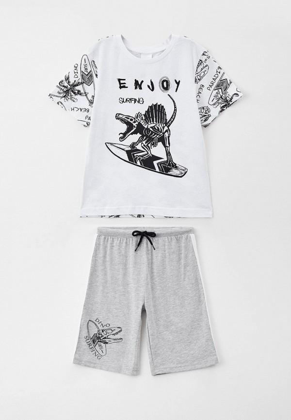 пижама acoola для мальчика, разноцветная