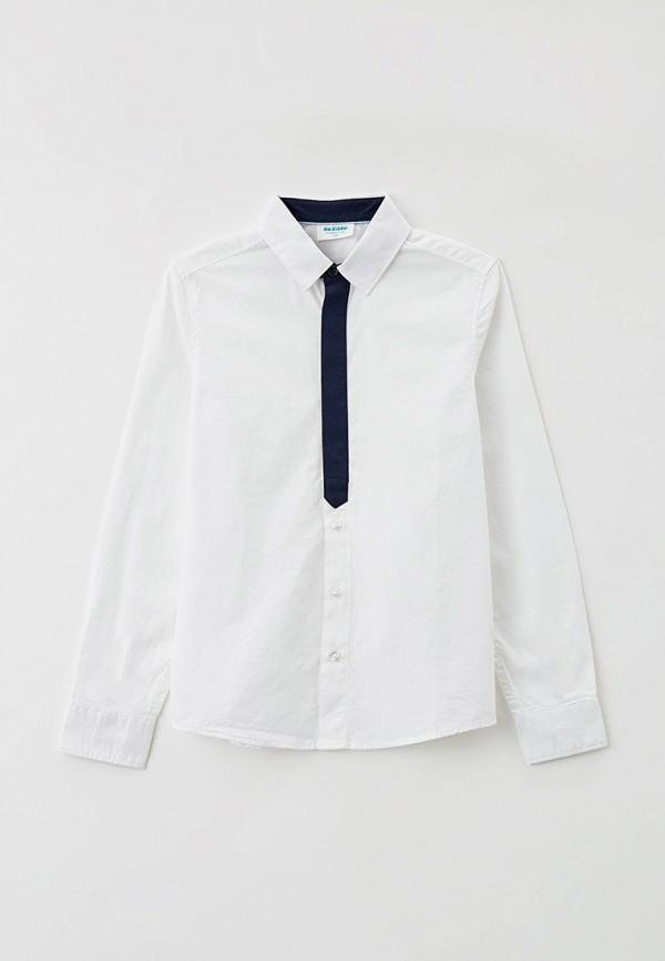 рубашка acoola для мальчика, белая