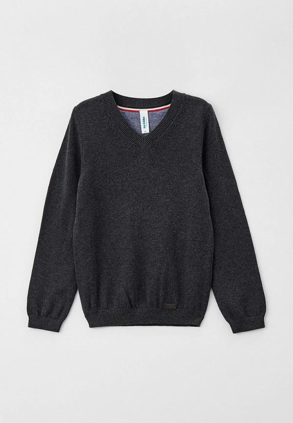 пуловер acoola для мальчика, серый