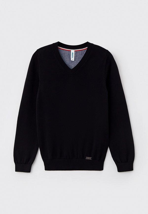 пуловер acoola для мальчика, черный