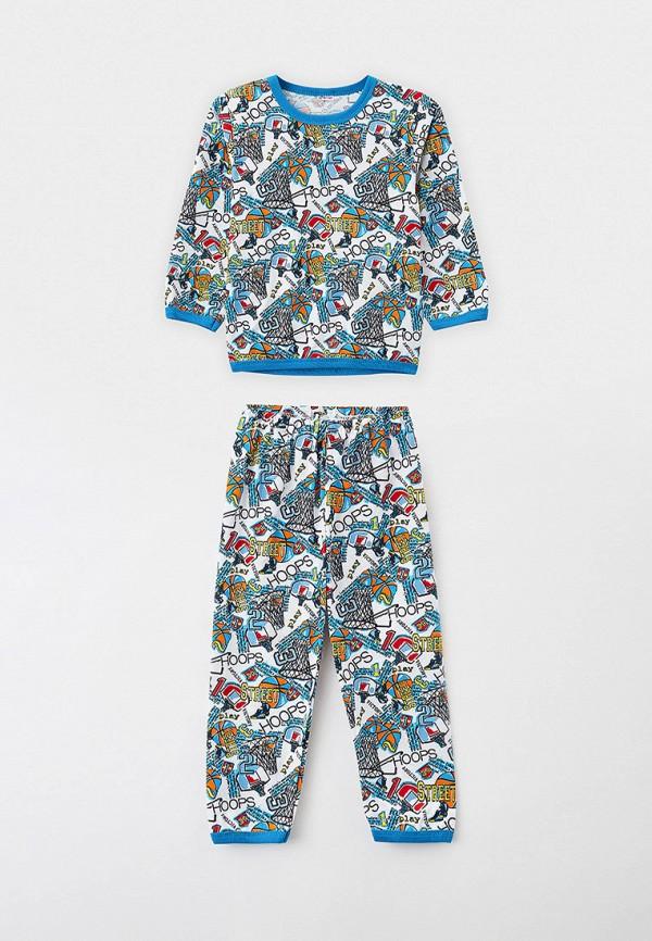 пижама youlala для мальчика, белая