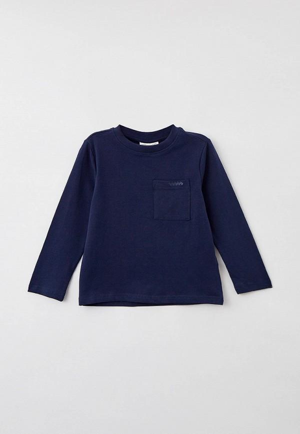Лонгслив Coccodrillo синего цвета