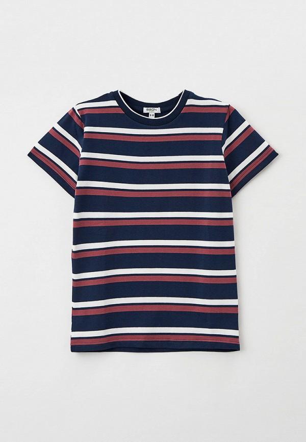 футболка с коротким рукавом baon для мальчика, синяя