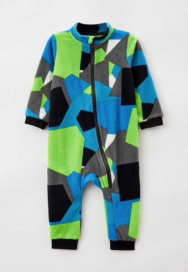 комбинезон с брюками playtoday для мальчика, разноцветный