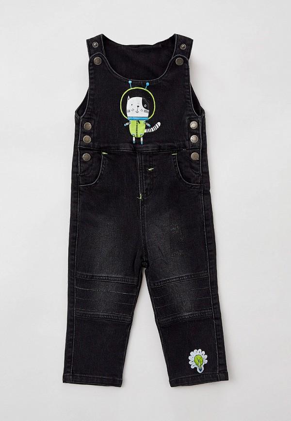 джинсовые комбинезон playtoday для мальчика, черный