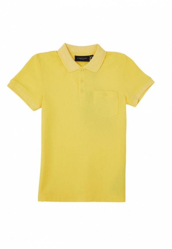Поло Finn Flare желтого цвета