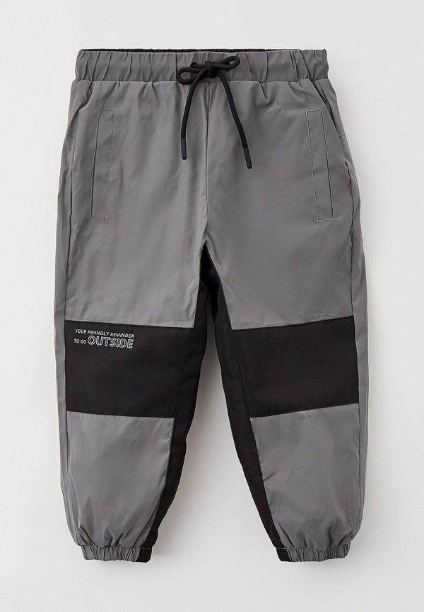 утепленные брюки sela для мальчика, серые