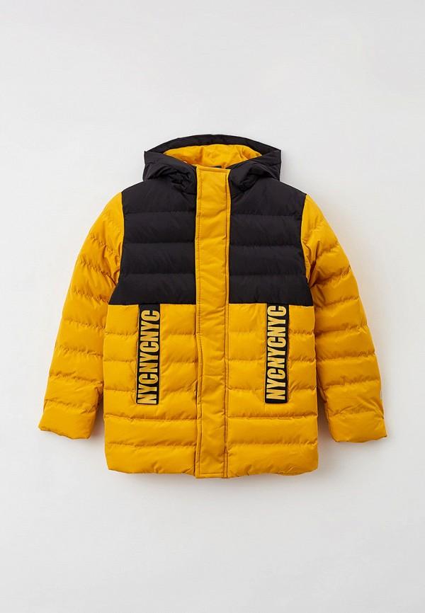 Куртка утепленная PlayToday желтого цвета