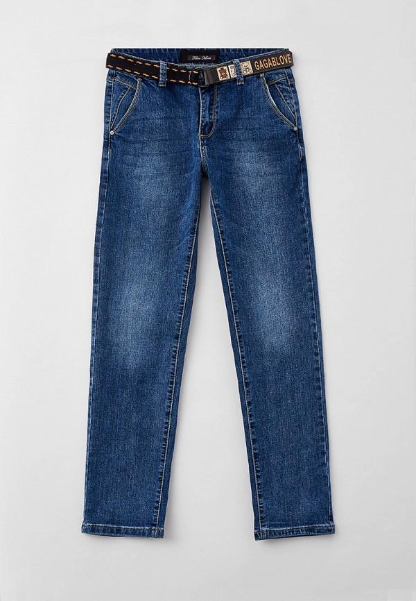 джинсы fabia monti для мальчика, синие