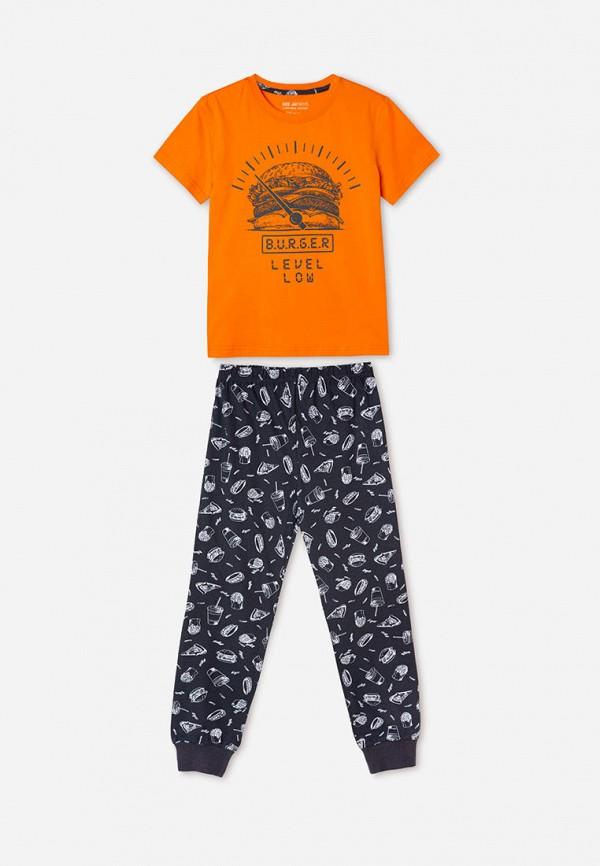пижама gloria jeans для мальчика, разноцветная
