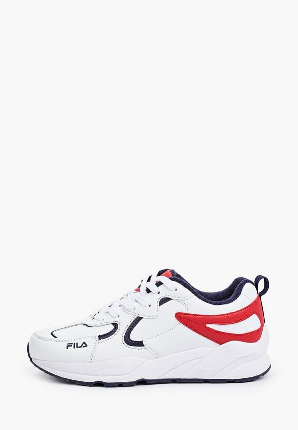 кроссовки fila для мальчика, белые