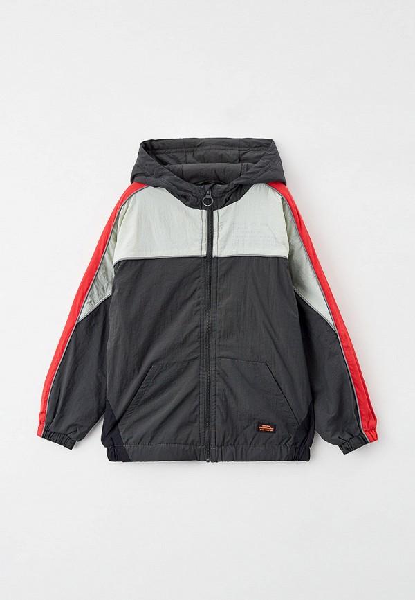 легкие куртка sela для мальчика, серая