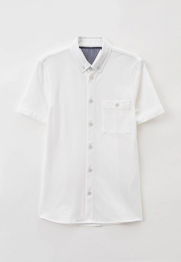 рубашка junior republic для мальчика, белая