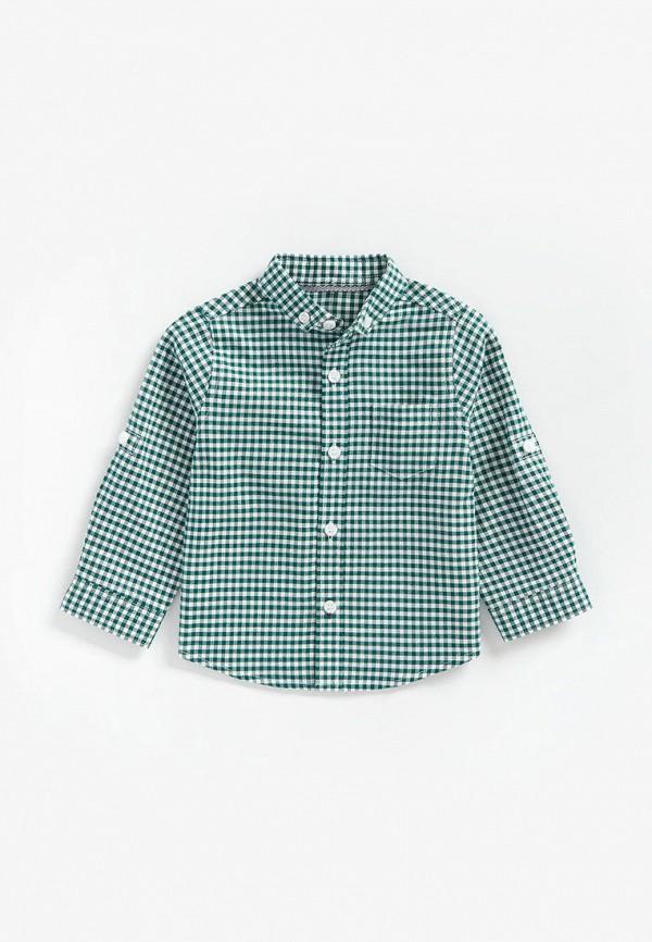 рубашка mothercare для мальчика, зеленая