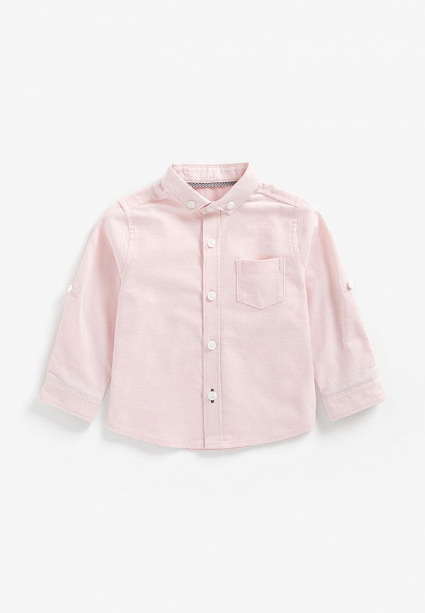 рубашка mothercare для мальчика, розовая