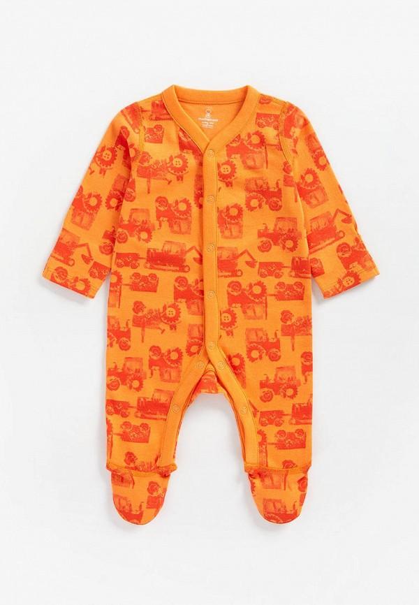 комбинезон mothercare для мальчика, оранжевый