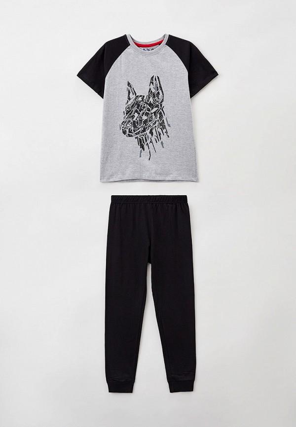 пижама 5.10.15 для мальчика, разноцветная