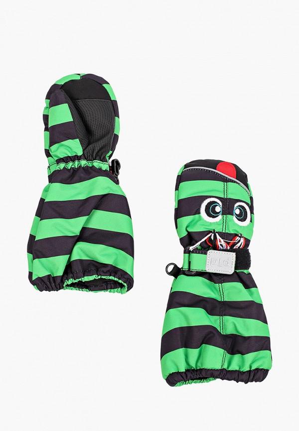 варежки playtoday для мальчика, зеленые