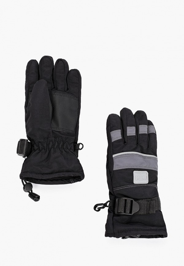 перчатки playtoday для мальчика, черные