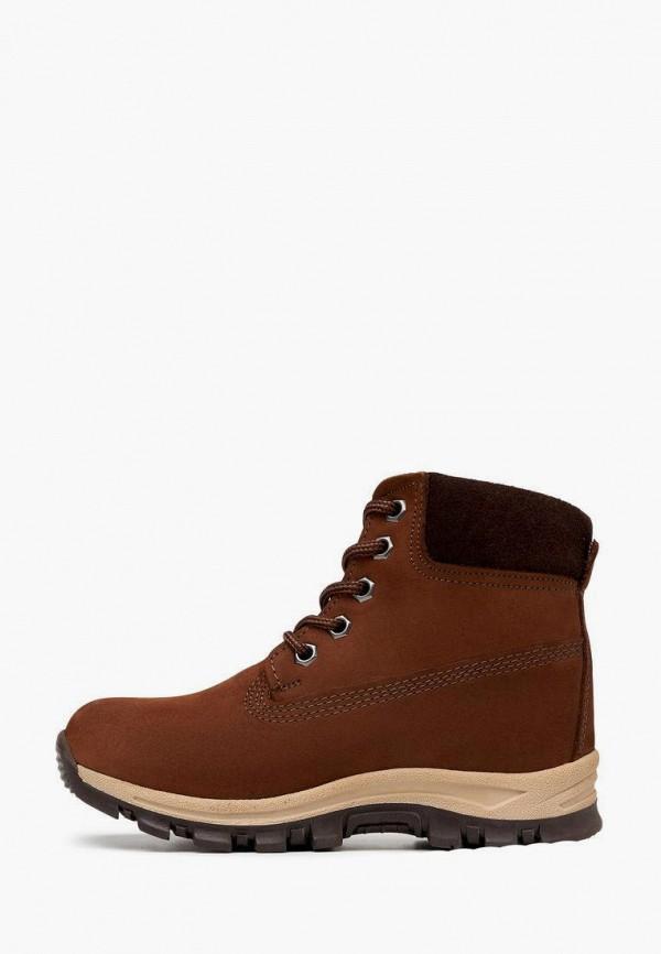 ботинки alessio nesca для мальчика, коричневые