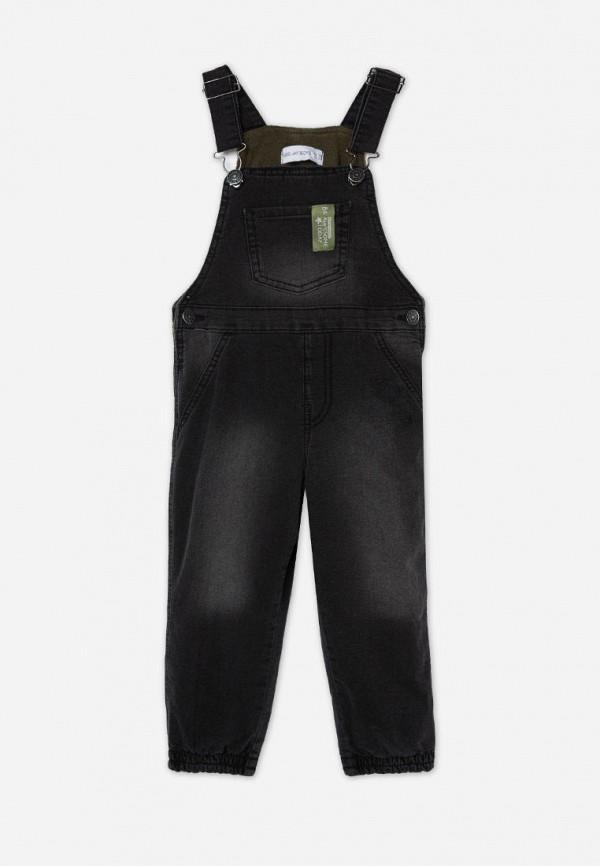 джинсовые комбинезон gloria jeans для мальчика, черный