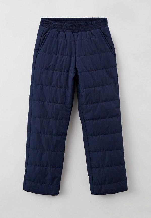 утепленные брюки baon для мальчика, синие