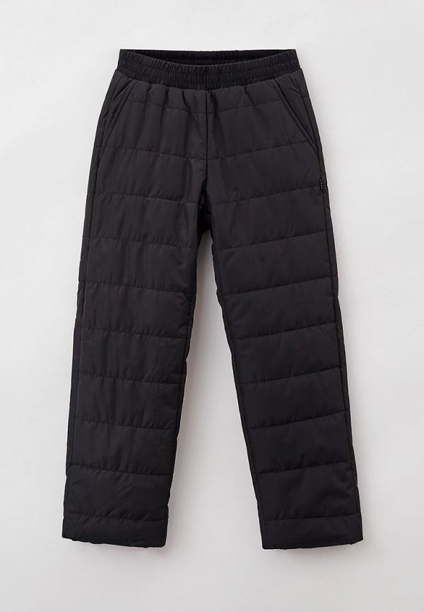утепленные брюки baon для мальчика, черные