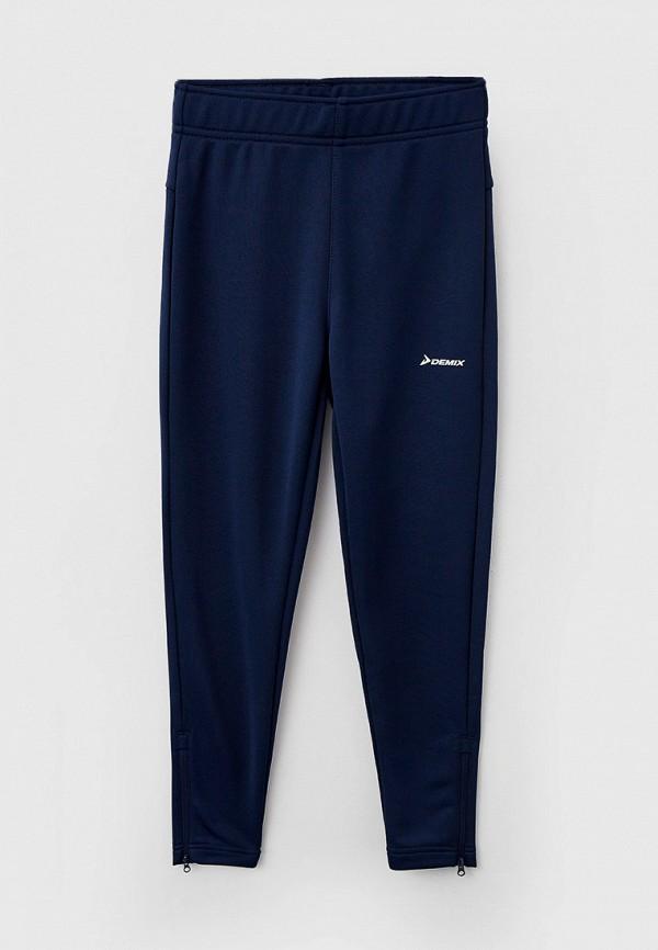 спортивные брюки demix для мальчика, синие
