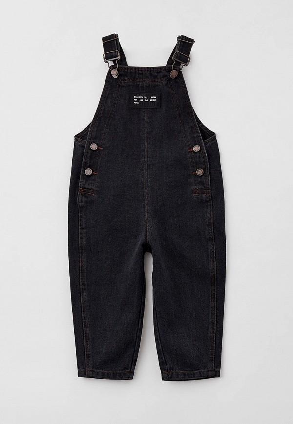 джинсовые комбинезон sela для мальчика, серый