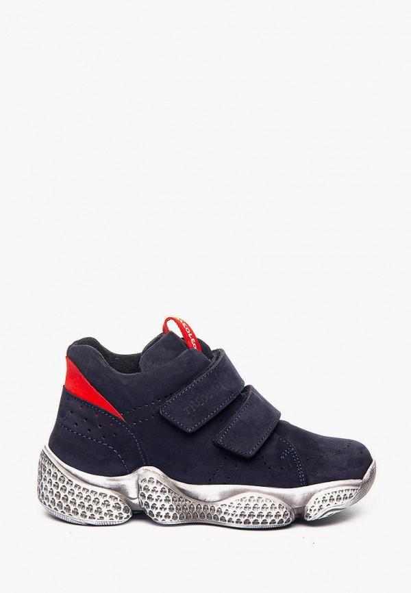 ботинки theo leo для мальчика, синие