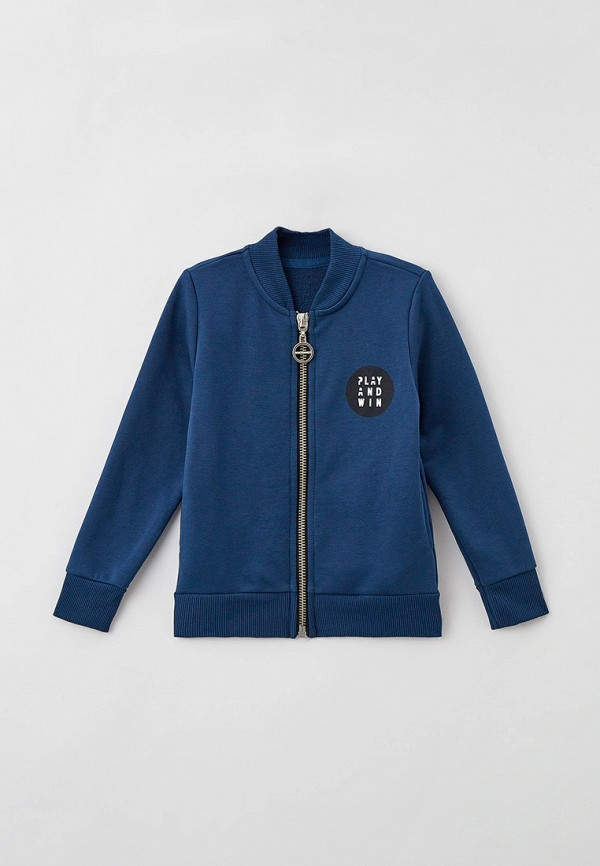 олимпийка mark formelle для мальчика, синяя